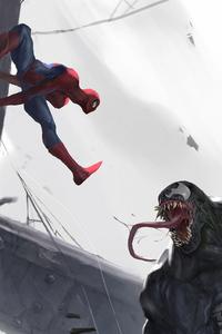 750x1334 Spider Man Vs Venom 4k
