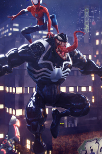 Spider Man Vs Venom Artwork