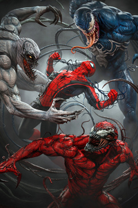 1280x2120 Spider Man Vs Venomized