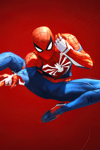 320x480 Spider Man Web Shooter 4k