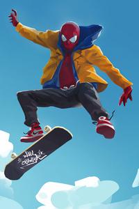 Spider Man Yellow Jacket