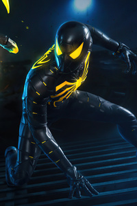 Spider Mans Anti Ock Suit 8k