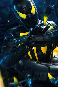 480x854 Spider Mans Anti Ock Suit Design 5k