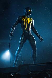 Spider Mans Anti Suit Design 5k