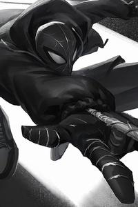 2160x3840 Spider Noir