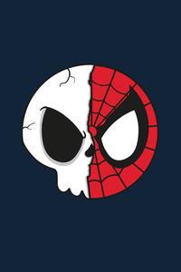 480x854 Spider Skull