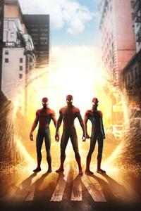 1080x2280 Spider Verse 2020 4k