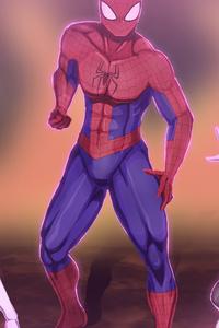 Spider Verse Art 4k
