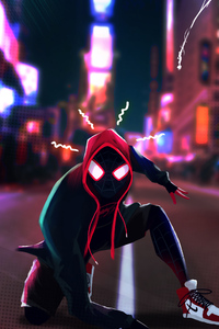 240x320 Spider Verse Fan Artwork