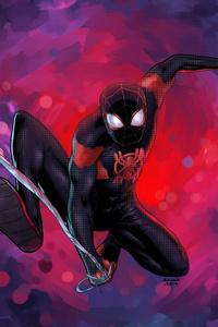 1280x2120 Spider Verse Miles Morales 4k