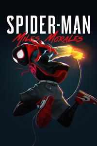 Spider Verse Miles Morales Cover 4k