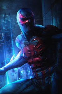Spider Verse Spiderman 2077