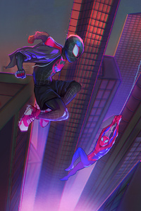 Spider Verse Spidermans