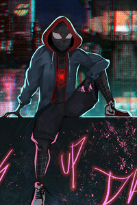 Spider Verse What Up Danger