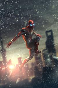 Spiderman 2020 4k Art