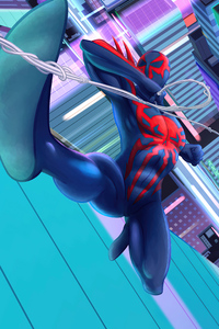 1080x1920 Spiderman 2099 Coming