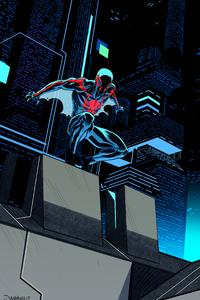 Spiderman 2099 Digital Art