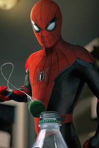 Spiderman 4k 2020 Art