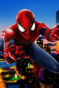 Spiderman 4k Art