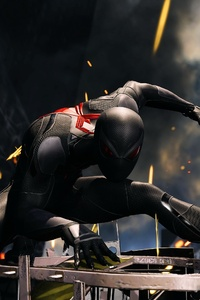 Spiderman 4k Black Suit