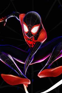 Spiderman 4k Miles Morales Art