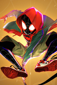 Spiderman 4k Miles Morales Artwork