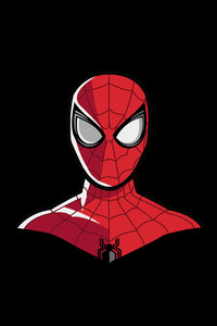 Spiderman 4k Minimal