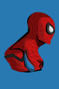 Spiderman 4k Minimalism