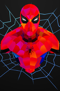 Spiderman Abstract