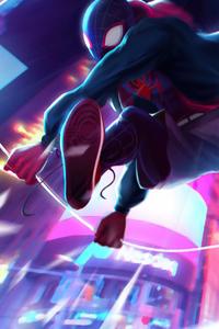 Spiderman Action 4k