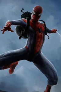 240x320 Spiderman All The Up