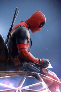 1080x2160 Spiderman And Deadpool