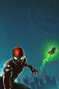 Spiderman And Mysterio New Art