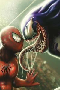 Spiderman And Venom