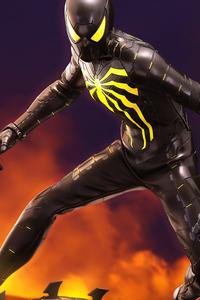 240x320 SpiderMan Anti Ock Suit 5k