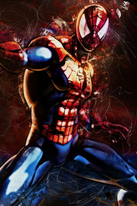 Spiderman Art 4k