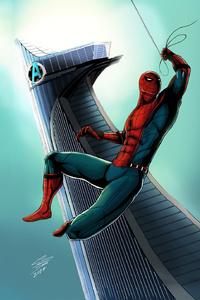 320x480 Spiderman Artwork