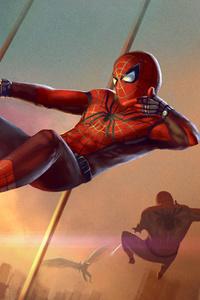 720x1280 Spiderman Artwork HD