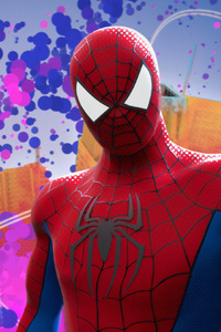 Spiderman Background Colorful