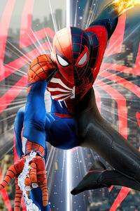 750x1334 Spiderman Be Great Again 4k