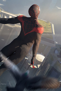 Spiderman Black Suit Up