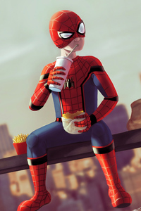 Spiderman Break Time