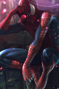 Spiderman Clicking Pictures