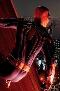 Spiderman Climb Through Wall