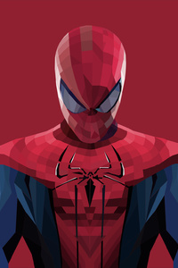 Spiderman Closeup Artworks