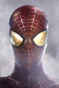 Spiderman Closeup Digital Art