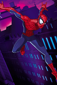 Spiderman Colorful Art