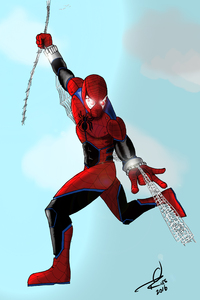 Spiderman Comic Arts