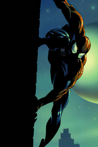 1125x2436 Spiderman Comic Artwork 4k
