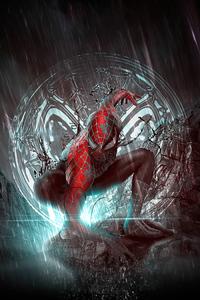 480x800 Spiderman Comic Hero 4k